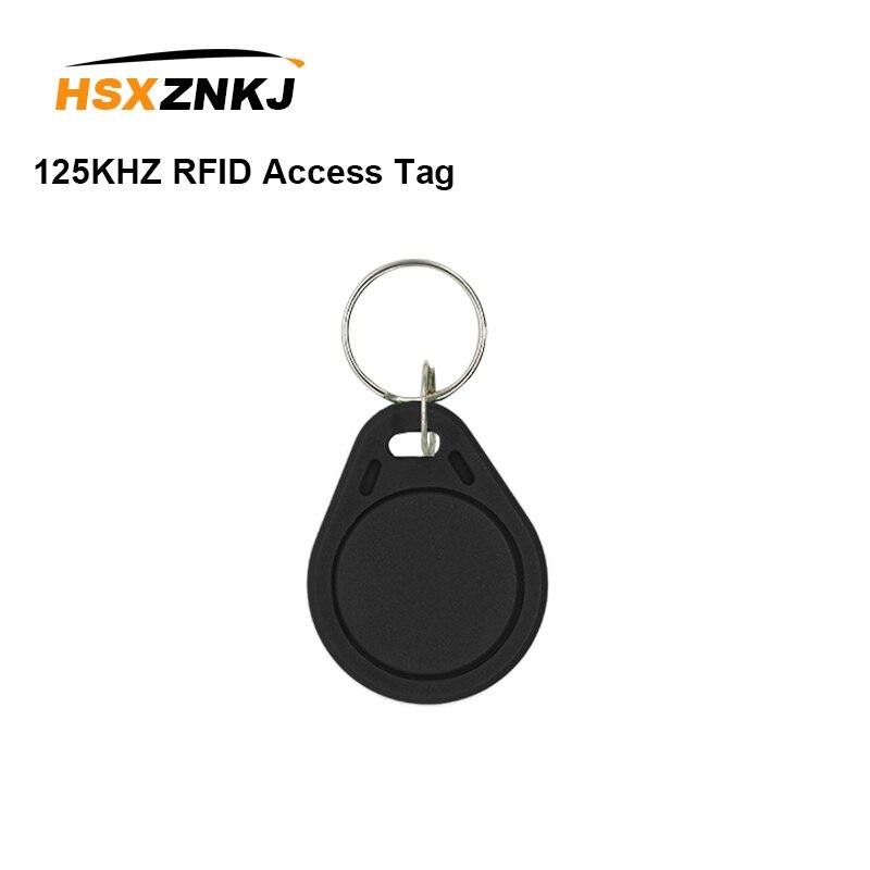5PCS Color Random 125KHZ RFID Access Tag Replicator EM4305 T5577 Repeated Write Keychain