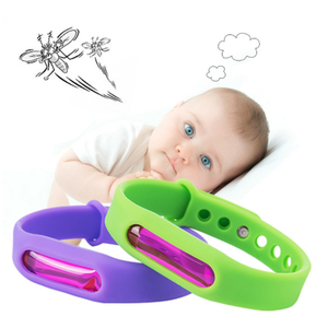 Bracelet Wristband Bugs-Control Mosquito-Repellent Insect Pest Capsule for Kids 1set