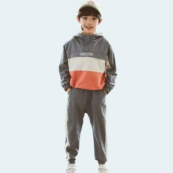 Pakaian Set Hoodie + Celana Laki Laki 1