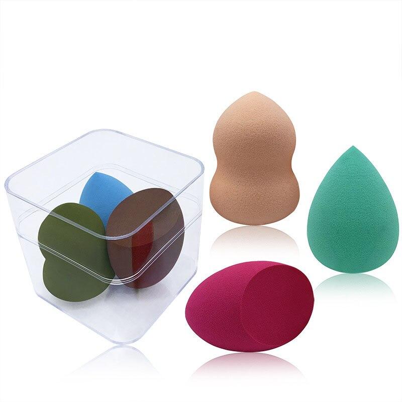 3 pacotes gourd puff beleza ovos esponja gourd algodão gota de água maquiagem super macio não comer pastel maquiagem ovo