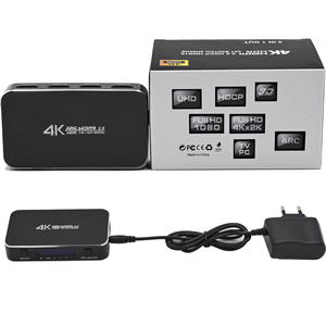 Image 5 - Switch HDMI 4x1 4K @ 60Hz Audio Ottico TOSLINK Ultra HD 4 Porte HDMI Switcher 1080p 3D per Xbox PS4 Lettore Blu Ray Roku