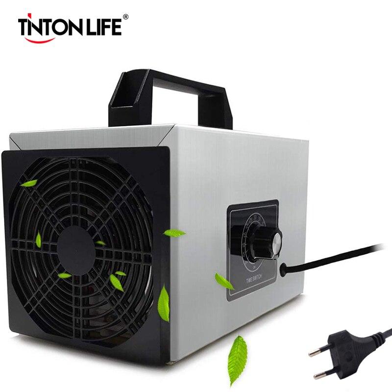 Generator ozonu oczyszczacz powietrza 20 g/h, 220 V, 110 V, do dezynfekcji, z timerem, usuwa zapachy oczyszczacz powietrza