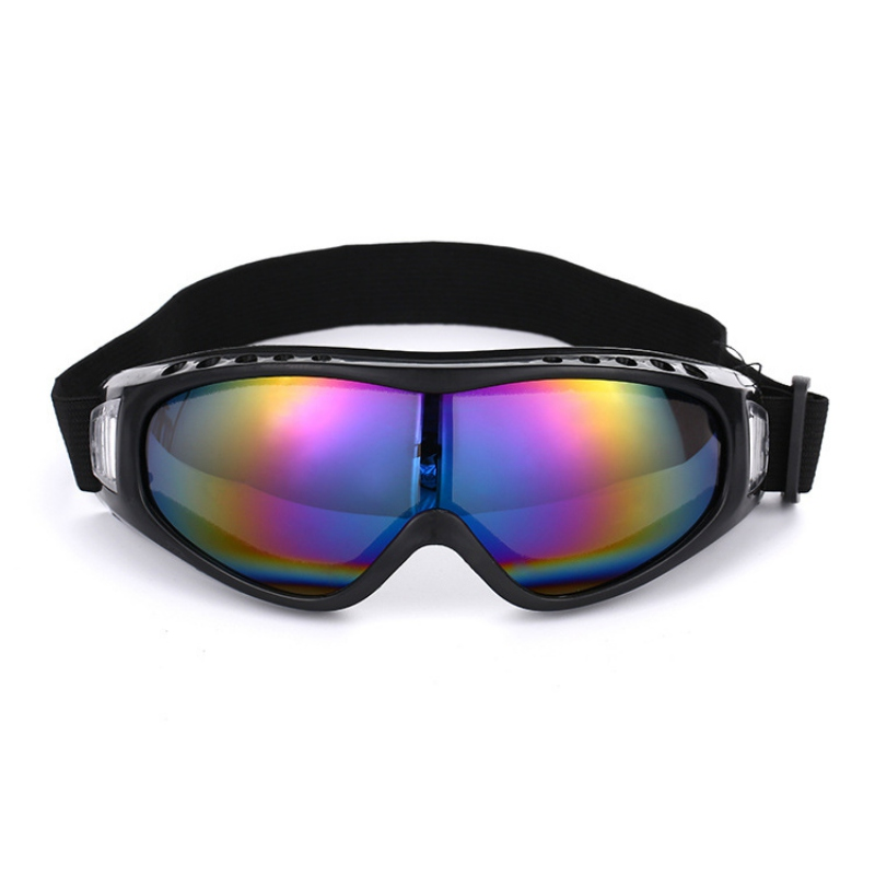 Hot Motocycle Sports Ski Goggles Eyewear Snow Blindness UV Protective Sunglasses Riding Running Suit Anti-Glare Polaroid Glasses