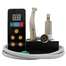 Built in electric motor dental tools 1:5 LED contra angle low speed handpiece inner water micromotor kit
