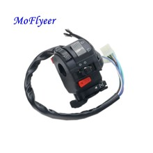 22mm Motorcycle Switches Motorbike Horn Button Turn Signal Electric Fog Lamp Light Start Handlebar Controller Switch Headlight