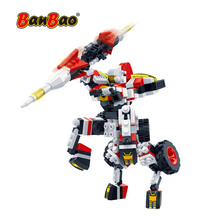 Model-Toys Bricks Robot Building-Blocks Transformer-Creative Space-Craft Banbao Educational