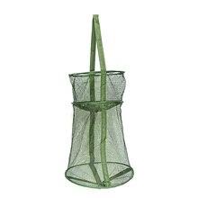 Складная рыболовная сетка клетка ловушка для рыбы быстросохнущая Складная рыболовная корзина Creel рыболовные снасти инструменты аксессуары