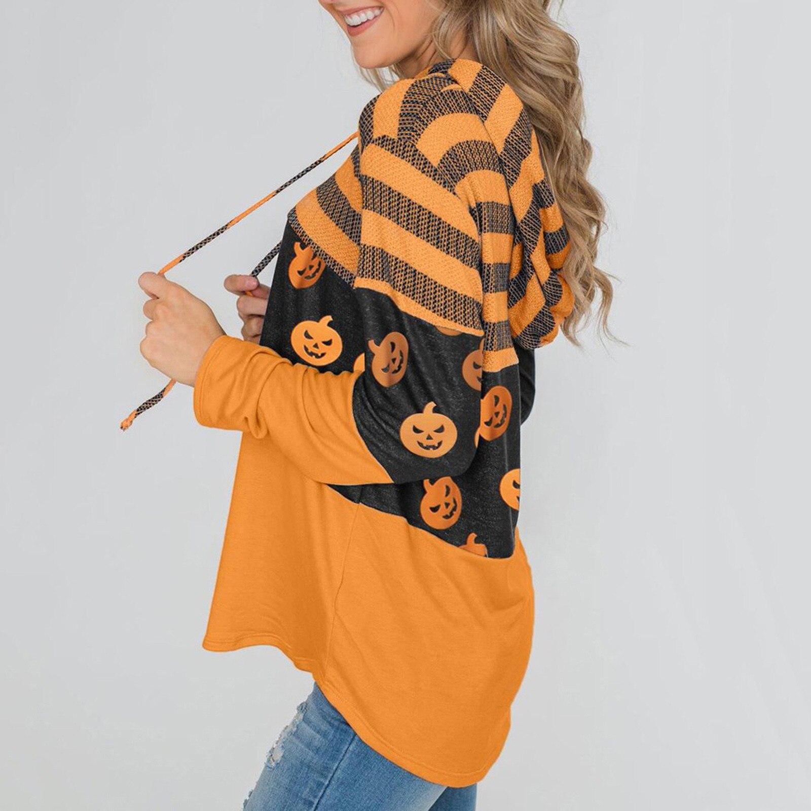Women Pumpkin T Shirt  2