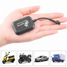 Mini Vehicle Motorcycle Bike GPS/GSM/GPRS Real Time Tracker Monitor Tracking Black Automotive GPS Use For Global tracker