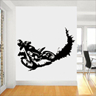 Motocross Wall Decal...