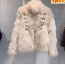 Fur body fox fur court fur coat women's 2020 New Youth short heining fur coat