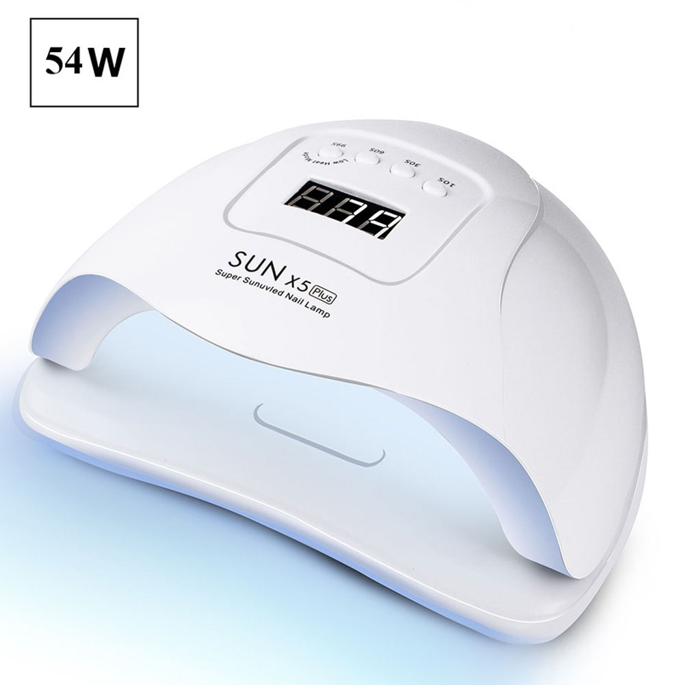 54W Nail Lamp UV Lamp 36 PCS LEDs Nail Dryer For Manicure Curing UV Gel Nail Polish With Motion Sensing LCD Display