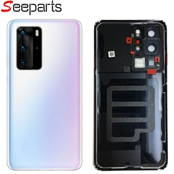 For Huawei P40 Pro Battery Cover P40 Rear Door P40 Pro Housing Back Case Replac Phone For Huawei P40 Battery Cover фото