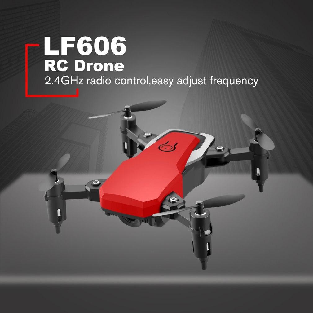 LF606 Wifi FPV Faltbare RC Drone mit 4K HD Kamera Höhe Halten 3D Flips Headless Modus RC Hubschrauber Flugzeug flugzeug