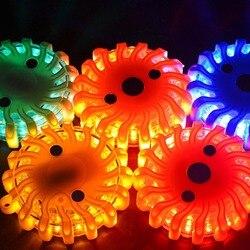 Światło ostrzegawcze led wielofunkcyjne kontrolki led AAA zasilane bezpieczeństwo ruchu wskaźnik ostrzegawczy oświetlenie w Kontrolki od Lampy i oświetlenie na