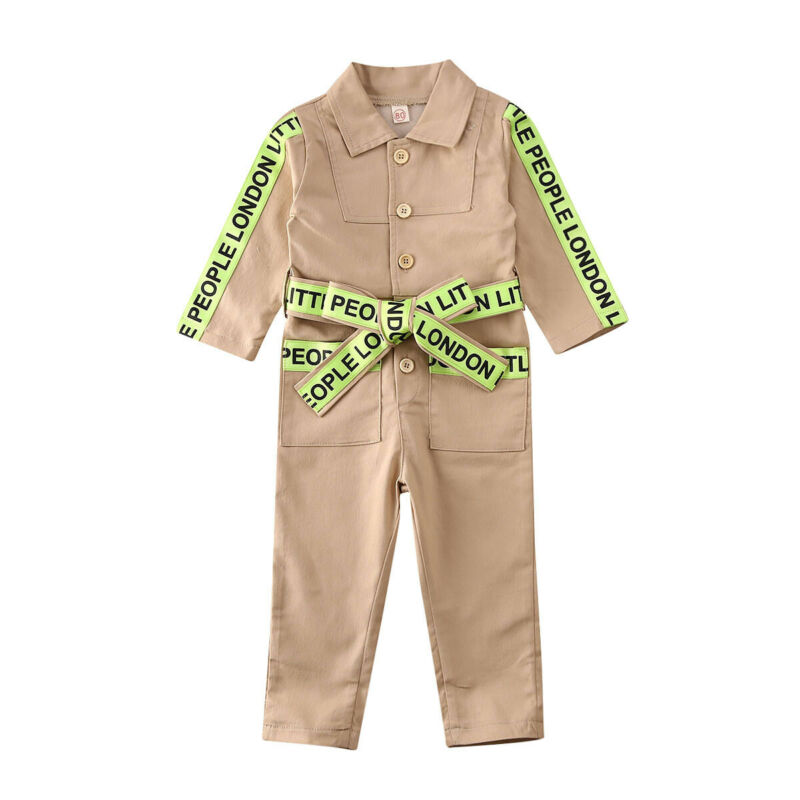 Children's Clothes 2020 Baby Girl Boy Long Sleeve Rompers Kid's Coverall Suit