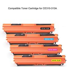 Compatible Toner Cartridge Replacement for HP 126A CE310A CE311A CE312A CE313A Ues in HP Color Laserjet Pro MFP M175nw M275nw CP 1set laser printer toner cartridge ce310a ce311a ce312a ce313a compatible for hp laserjet cp1025 1025nw m175a m275 m175nw
