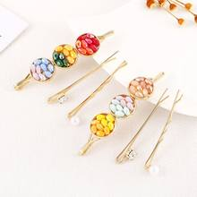 3Pcs/Set Fashion Pearl Hair Clip for Women Girls Elegant Beauty Styling Barrette Stick Hair Pins Tiara Hair accessories for girl(China)