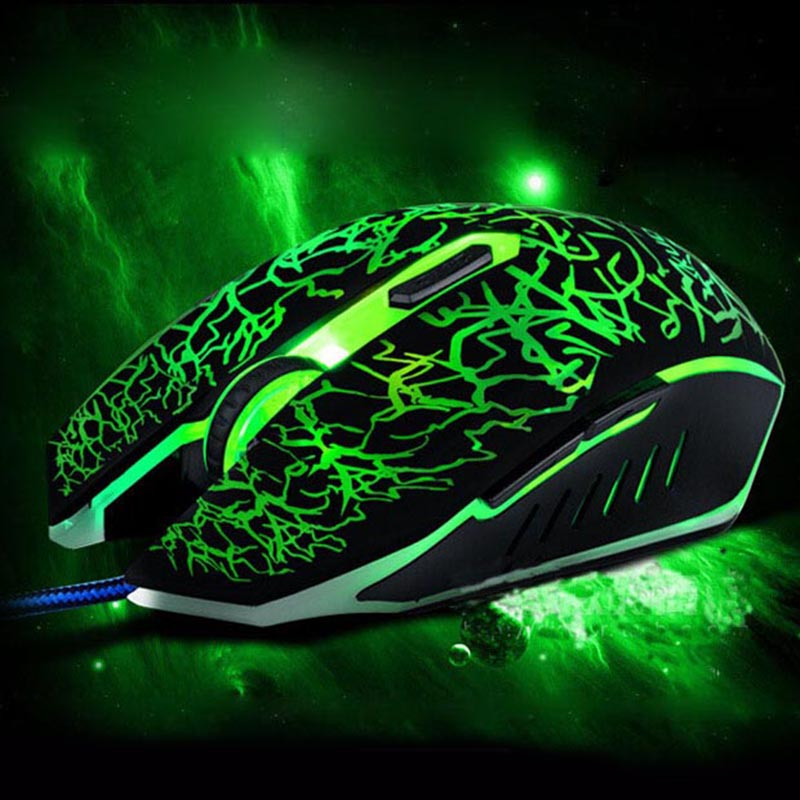 336 Wired Light-emitting Mouse With Breathing Light Notebook Desktop Mouse Office Game Usb Mouse Luminous Mouse