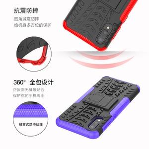 Image 5 - 50pcs/lot 2 in 1 hybrid pc tpu hard case For Samsung S21 S21Ultra S21PLUS A72 A52 A32 4G 5G A02S A12 Rugged Shockproof