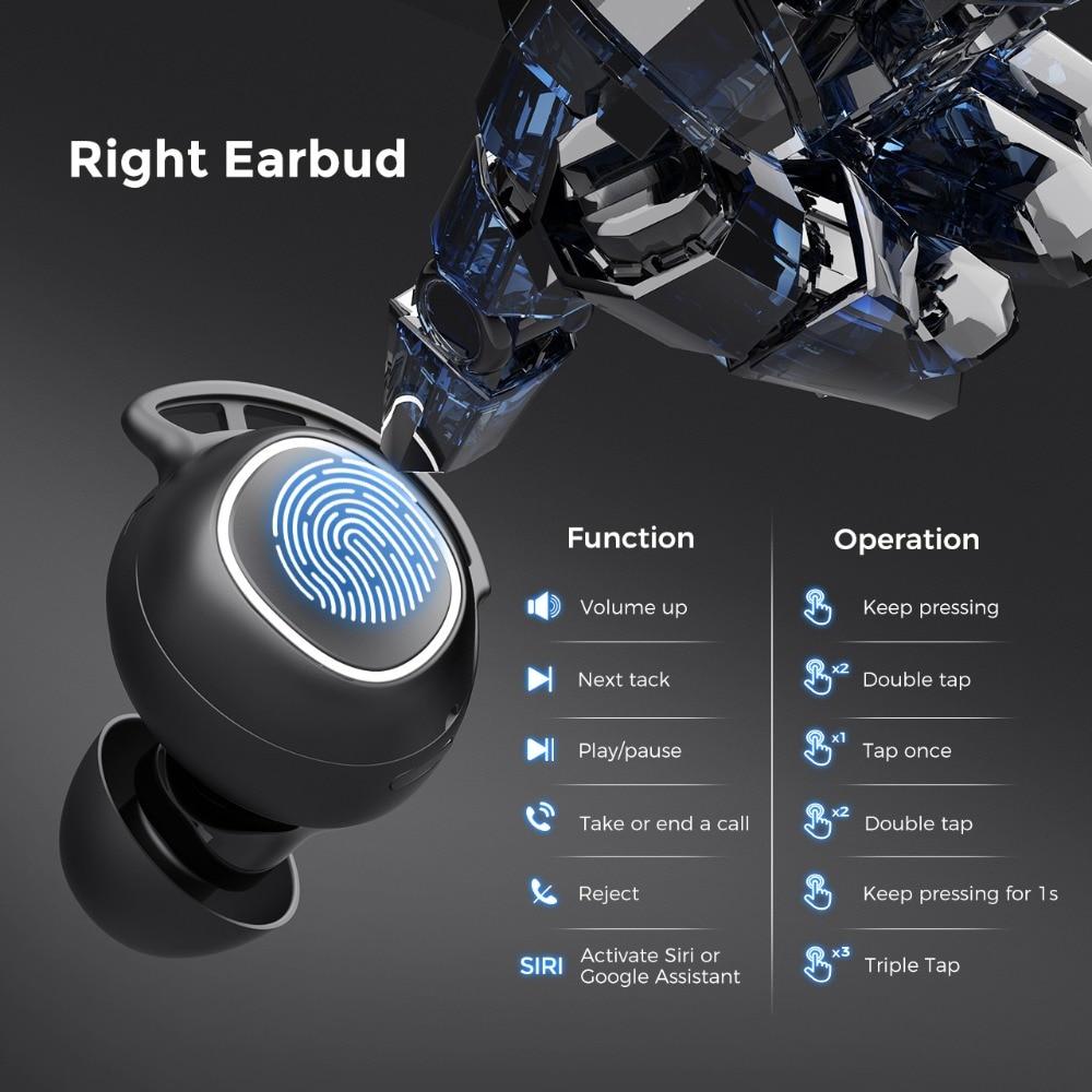 Mpow M30 Wireless Earphones TWS Bluetooth 5.0 Earphone Touch Control Earbuds With IPX7 Waterproof For iPhone Xiaomi Mi 10 Pro (8)