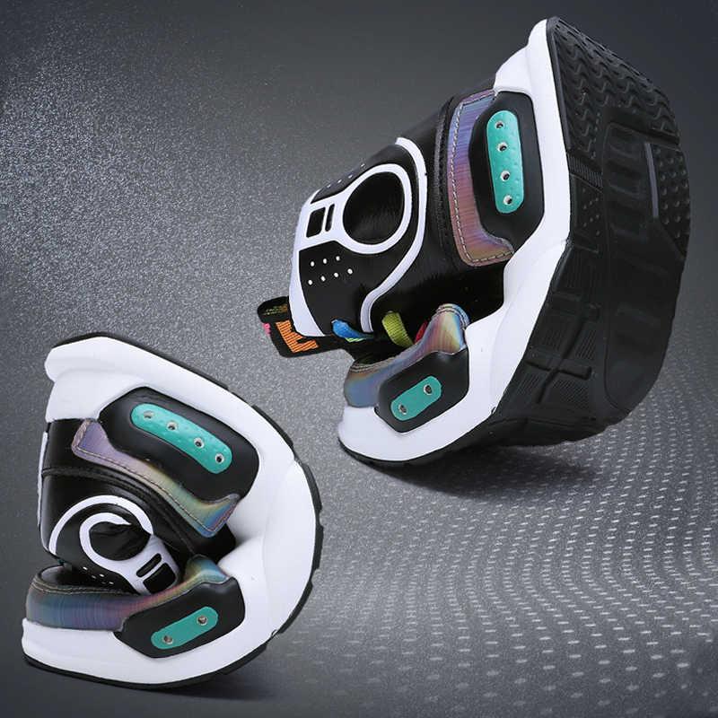 Ragazzi Incandescente Scarpe Da Ginnastica 2019 New Kids Scarpe Led USB Charing Led Back Light Scarpe Ragazze Flash Luminoso Scarpe Da Ginnastica zapatillas nina