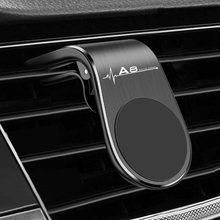 Metal Magnetic Car Phone Holder for Audi A8 Q3 A3 B5 B6 B7 B8 B9 Q7 8P 8V 8L A5 A4 C6 C5 C7 4F A1 A7 A6 Q2 Q5 RS3 RS Accessories