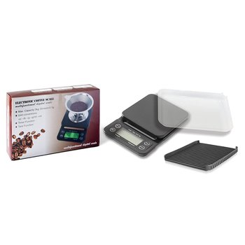 Timing Coffee Scale Electronic Scale Kitchen Scale Household Electronic Scale Kitchen Tools Plastic Portable