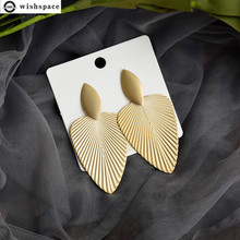 The new 2020 European and American fashion personality atmosphere exaggerated geometry type alloy earrings accessories wholesale