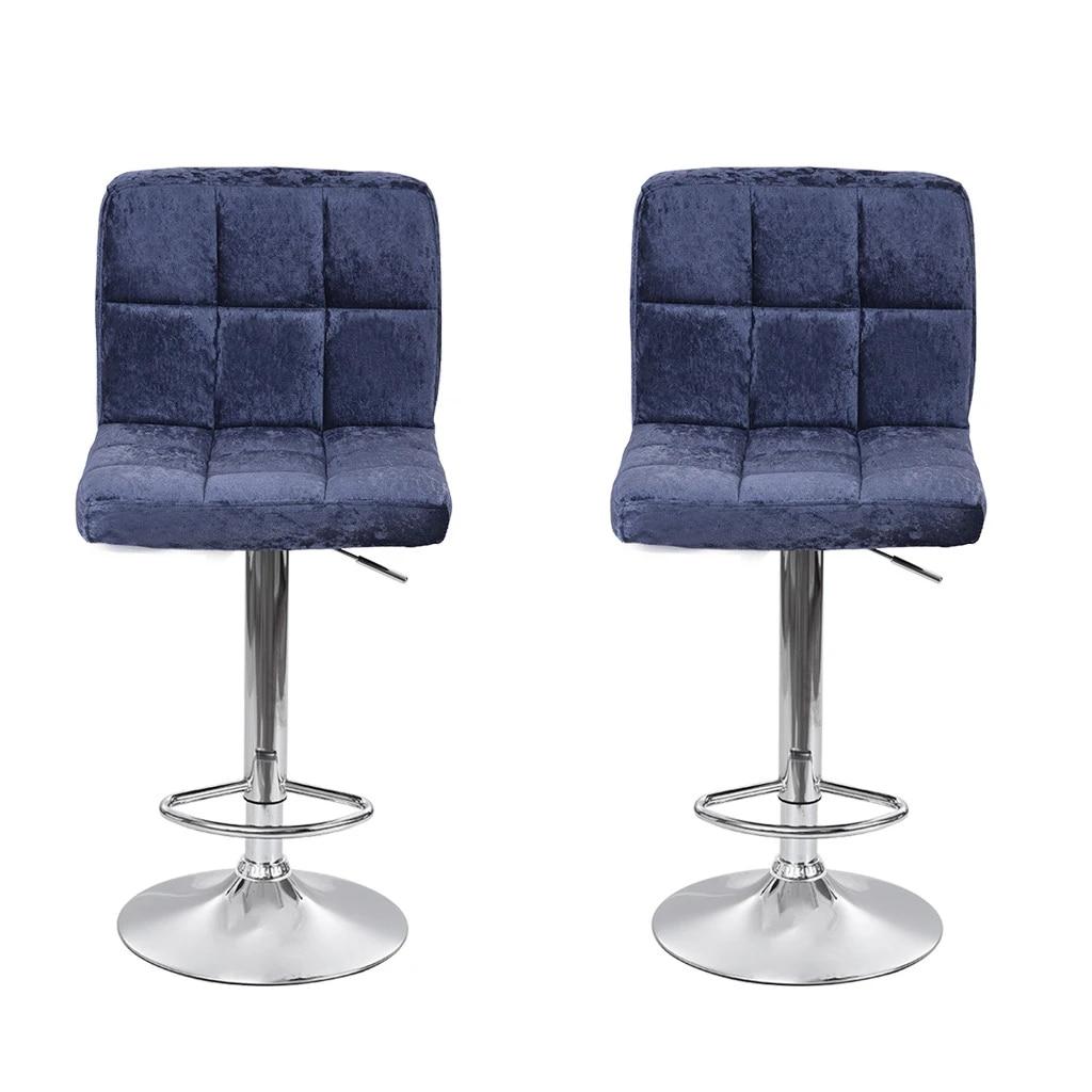 2pc Moderne Home Bar Fleece Bar Stuhl Sitz Schneeflocke Samt Bar Stuhl Sitz Uberzug Fuss Stuhle Hohe Einstellbar G3 Aliexpress