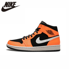 Nike Air Jordan 1 Original New Arrival Men Basketball Shoes Lightweight Outdoor Sports Sneakers #554724-062 nike air jordan 4 original men basketball shoes non slippery wear resisting air cushion outdoor sports sneakers 308497