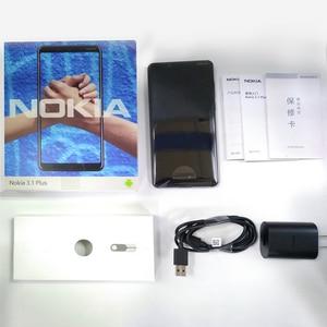 Image 5 - Original Nokia 3.1 Plus 4G Smartphone 6.0 Android 8.1 MTK 6762 Octa Core 3+ 32GB ROM 13.0MP+5.0MP Rear Cameras Mobile Phone