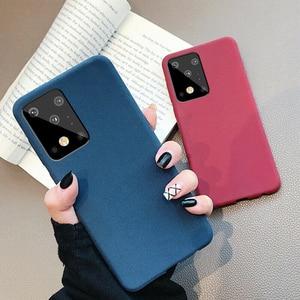 Image 3 - Роскошный Матовый Мягкий чехол YISHANGOU из песчаника для телефона Samsung Note 10 20 S20 FE Plus Ultra S10e A50 70 M51 A51 A71 81 Note10 Lite
