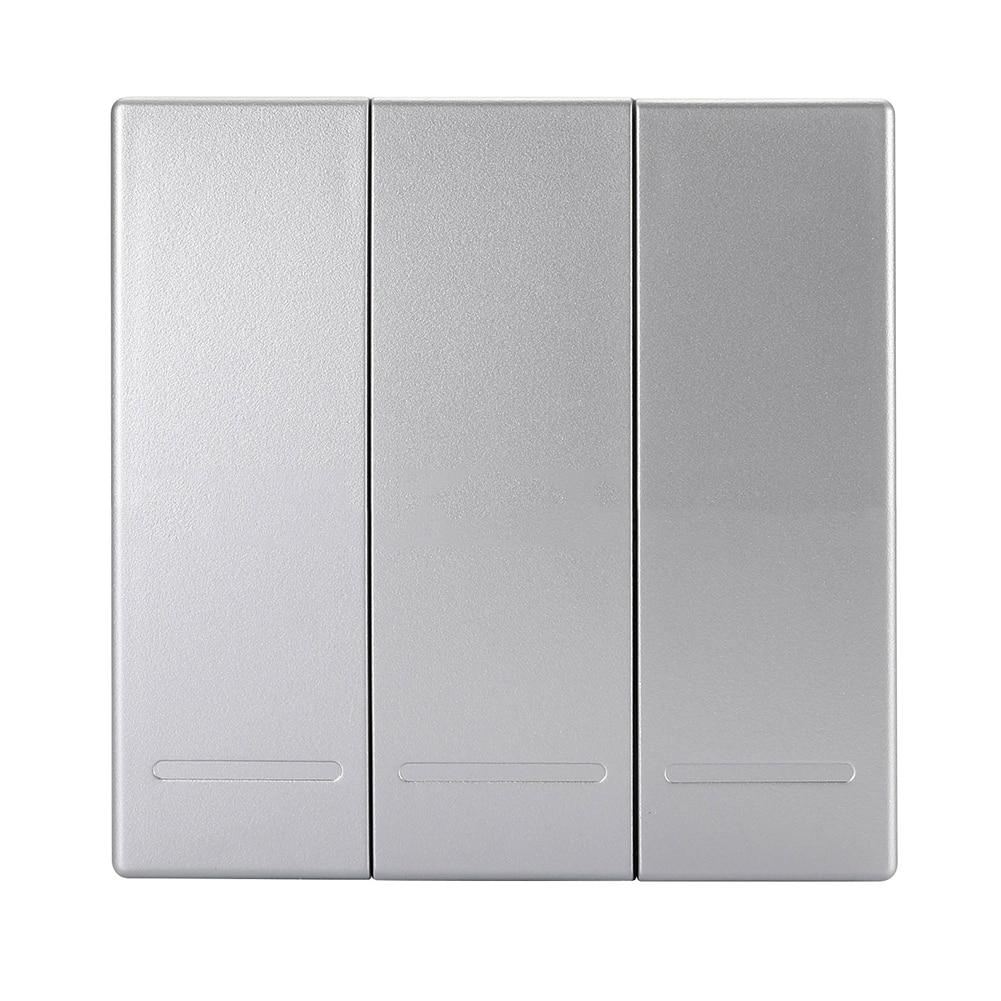 Липкий аксессуары для ванной комнаты настенное домашний пульт дистанционного управления панель управления огнеупорные простые зал передатчик свет 433 МГц современный Спальня Беспроводной