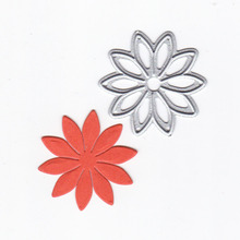 Simple Flower Dies Cutting Metal for DIY Scrapbooking Craft Card Embossing Die Cut New Template