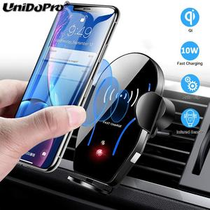 Image 1 - Auto Clamping 10W Qi Fast Wireless Car Charger for Blackview BV9900 BV9800 BV9700 BV9600 BV5800 BV9600 Plus BV6800 Pro Holder