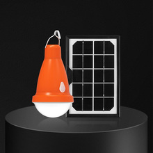 Solar Light Indoor Home Lighting One For One Outdoor Lights Camping Tent Lamp Super Bright Charging LED Bulb