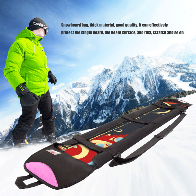 Snowboard Protective Case Portable Winter Outdoor Sports Cycling Skiing Equipment Random Color Case Snowboard Carrying Bag