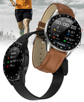 Nowy L7 smart watch mężczyźni kobiety ekg Bluetooth zadzwoń muzyka Anti lost przypomnienie wiadomość synchronizacji IP68 wodoodporny dla androida IOS w Inteligentne zegarki od Elektronika użytkowa na