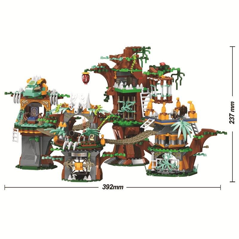 Briques de dinosaures du monde jurassique compatibles Legoing Jurassic World 75929 blocs de construction modèles garçons cadeaux jouets pour enfants - 2