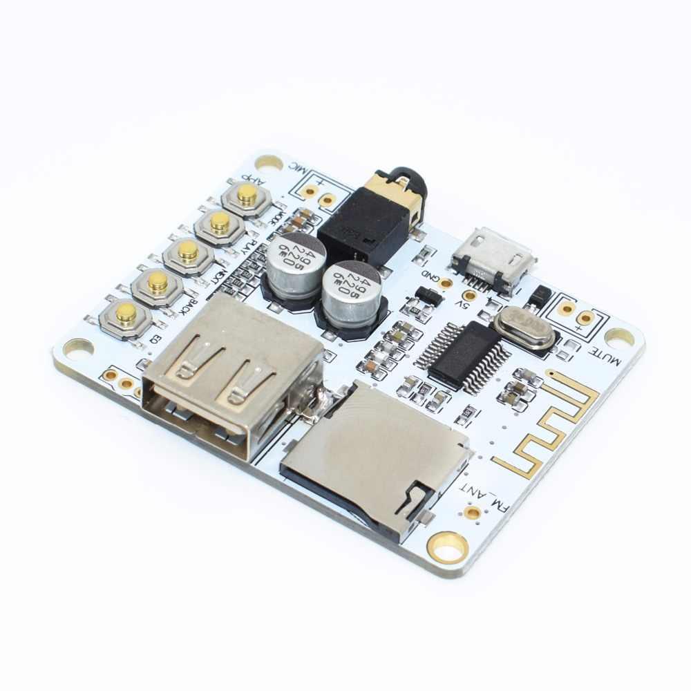 Bluetooth Ricevitore Audio board con USB Slot Per schede TF riproduzione decodifica di uscita preamplificatore A7-004 5V 2.1 Stereo Senza Fili di Musica modulo