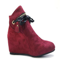 Women's Snow Boots Flat Bottom Large Size Short Thick Cotton Short Boots Casual Shoes Very Warm Winter Boots Women