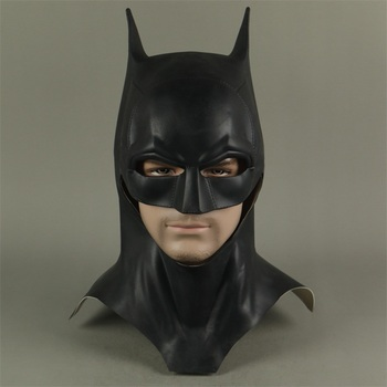 The Batman Bruce Wayne Latex Mask Superhero Movie Cosplay Costume Halloween Party Masks the batman bruce wayne latex mask superhero movie cosplay costume halloween party masks