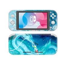 Наклейка с рисунком аниме «Унесенные призраками» для Nintendo Switch, наклейка для Nintendo Switch Lite, Защитная Наклейка для Nintendo Switch Lite