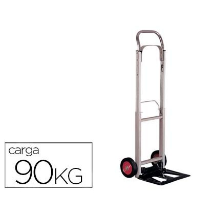 TROLLEY PORTAPAQUETES-WITH WHEELS-MEASURES FOLDING-IN ALUMINUM-LOADING 90 KG 1110X390X410 MM