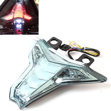 ZX 10R Motorcycle For Kawasaki Z1000 Ninja ZX10R ZX-10R ABS LED Rear Tail Light Assembly Brake Turn Signals Blinking