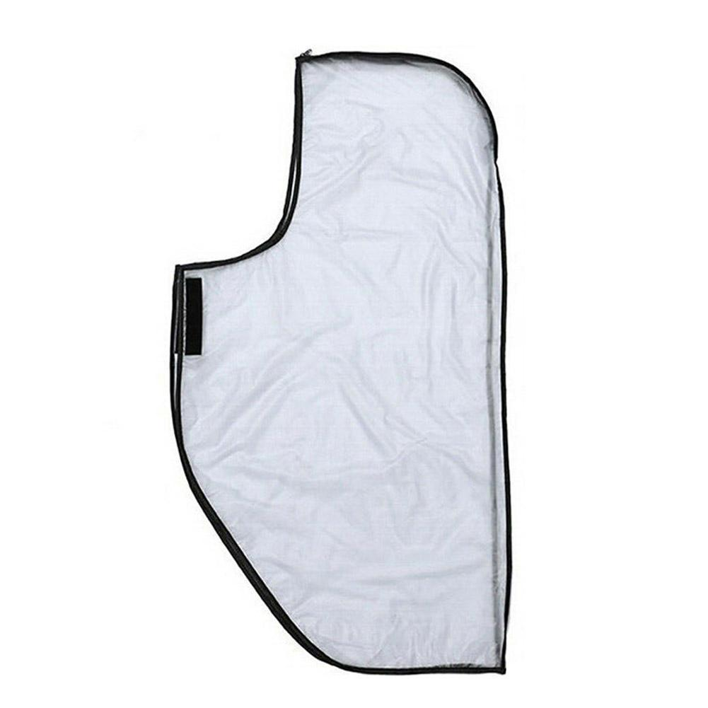 Golf Bag PVC Outdoor Rain Cover, Easy To Carry, Non-slip, Switch Zipper Convenient Durable, W6C9