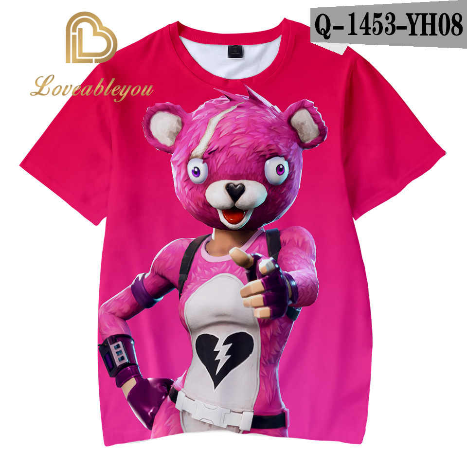 2019 Anime Unisex 3D Print Streetwear Punk T-shirt Hip Hop Sweatshirt Mannen t-shirt Harajuku Tops Kinderen 100 CM- volwassen 4XL Tee