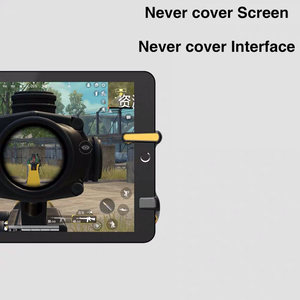 Image 3 - for PUBG Trigger Controller Capacitance L1R1 Aim Button Gamepad Joystick For Tablet Phone FPS Game Triger Joystick Accessories