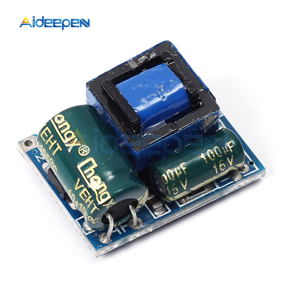 AC-DC 5V 600mA 3W <font><b>Isolated</b></font> Switching <font><b>Power</b></font> Supply <font><b>Module</b></font> 220V to 5V Buck Step Down <font><b>Module</b></font> Voltage Regulator for Arduino image